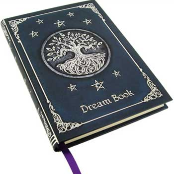 Celtic Tree of Life Dram Blank Book of Shadows