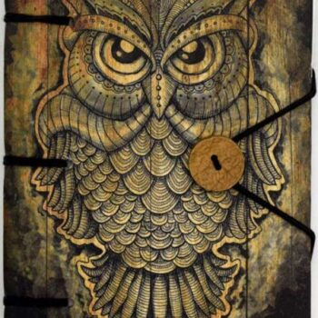 Owl Blank Book of Shadows