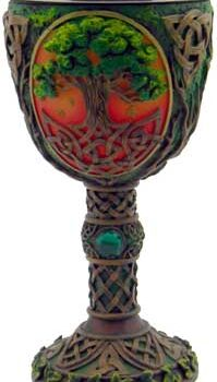 Tree of Life Resin Chalace