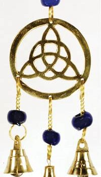Three Bell Triquetra Wind Chimes